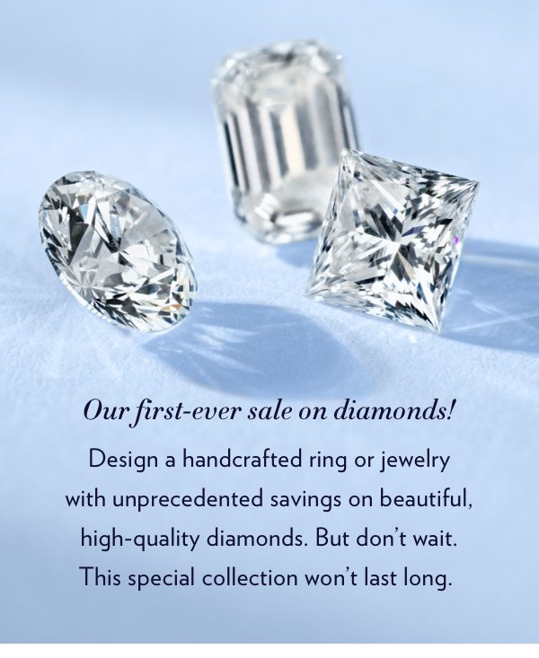 The Bridal Event 15 Off Engagement Rings Diamonds Blue Nile Email Archive