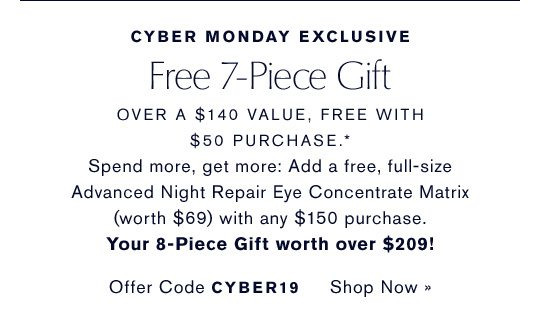 Online Exclusive TRY 6 FREE, WITH YOUR PURCHASE* Choose a deluxe sample with every $25 you spend up to $150. SEE DETAILS »