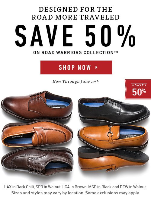 Save up to 50% on Road Warrior Collection