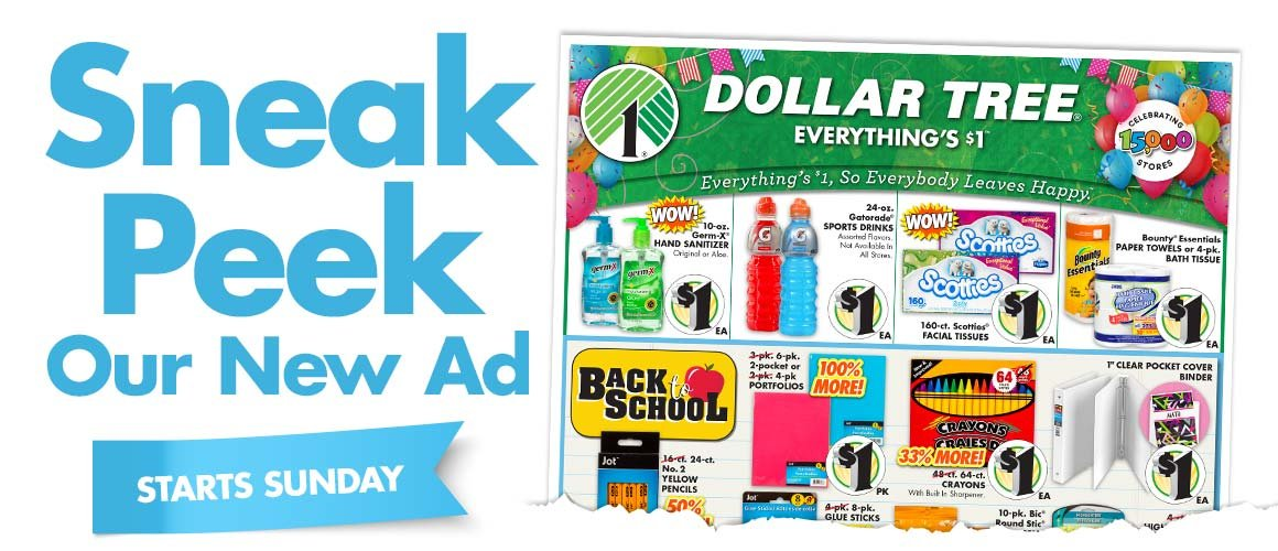 Let's Get This Party Started with a Sneak Peek    - Dollar Tree