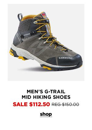 Men's G-Trail Mid Hiking Shoes - Click to Shop