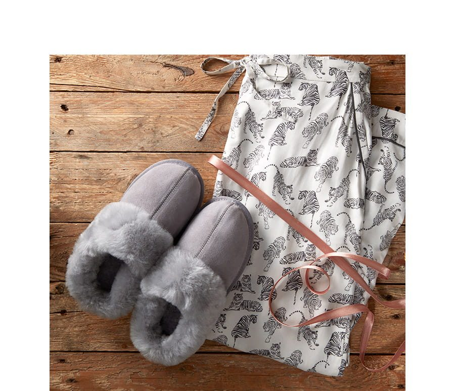 Snooze in style with our winter nightwear.