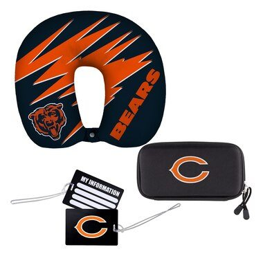The Northwest Company Chicago Bears Four-Piece Travel Set