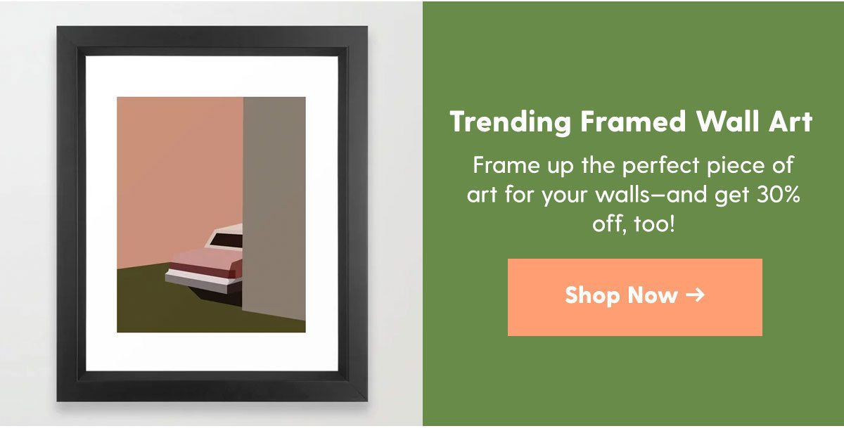 Trending Framed Wall Art >