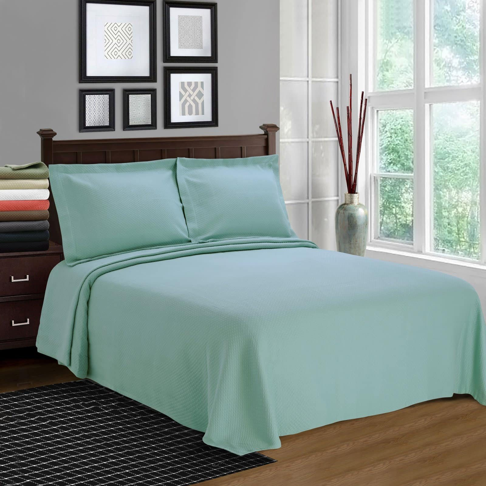 Solitaire Cotton Bedspread Set