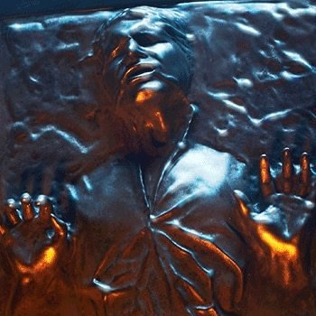 Han Solo in Carbonite Sixth Scale