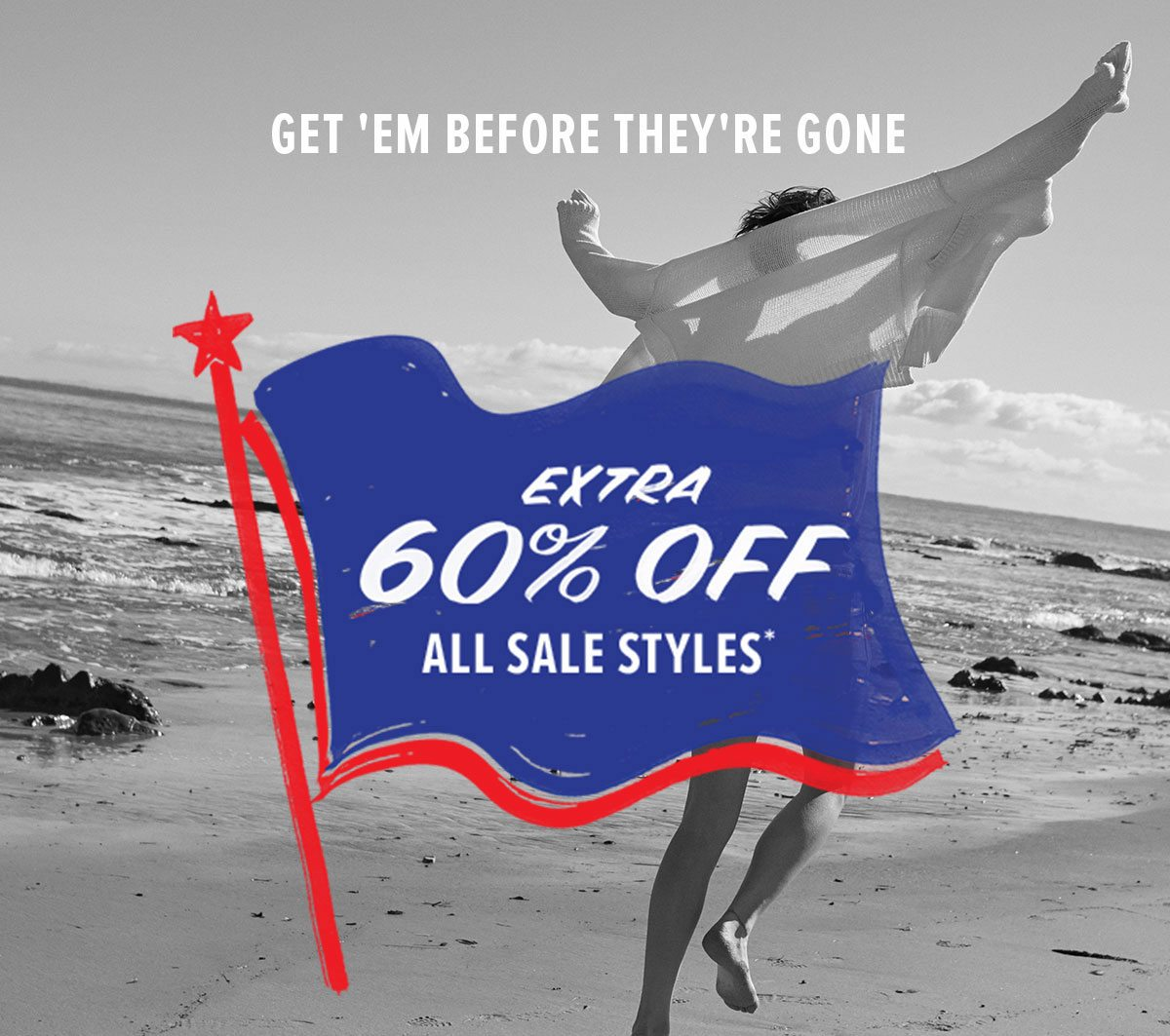 Extra 60% Off All Sale Styles
