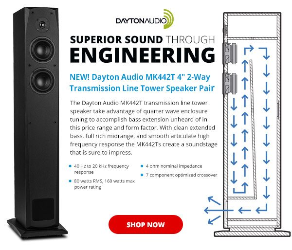 ✔️Just Released! Amazing Sound Tower - Parts Express Email Archive