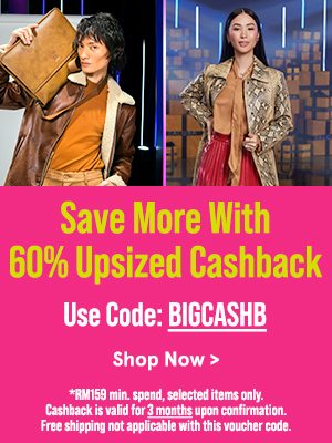 Save More with 60% Upsized Cashback!