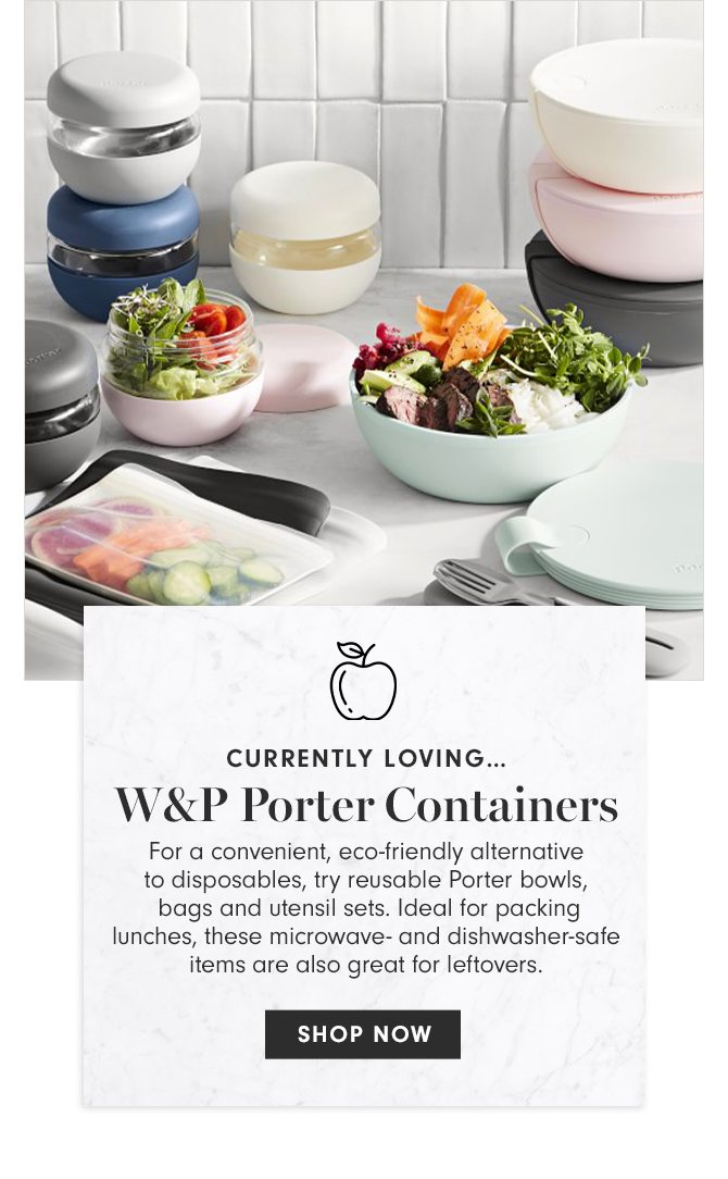 CURRENTLY LOVING - W&P Porter Containers - SHOP NOW