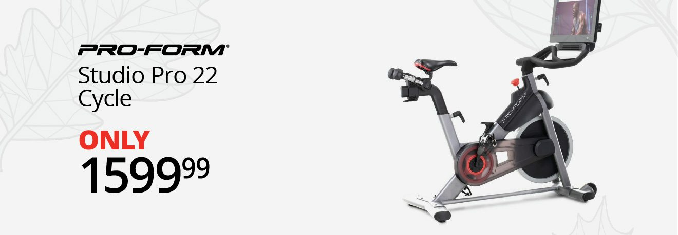 PRO-FORM® - Studio Pro 22 Cycle - ONLY $1599.99