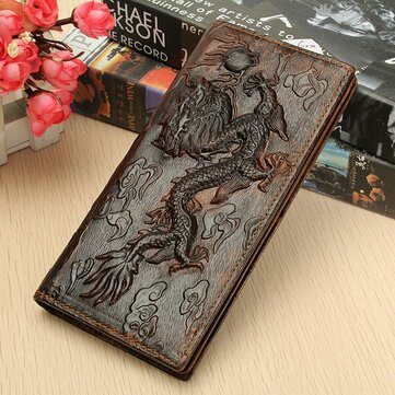 Dragon Wallet Card Holder Purse