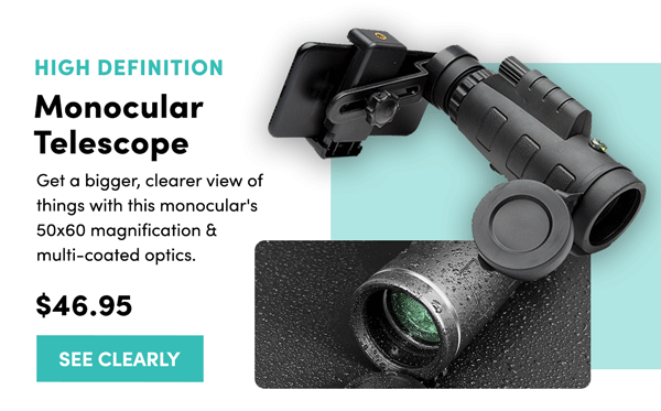 High Definition Monocular Telescope | See Clearly