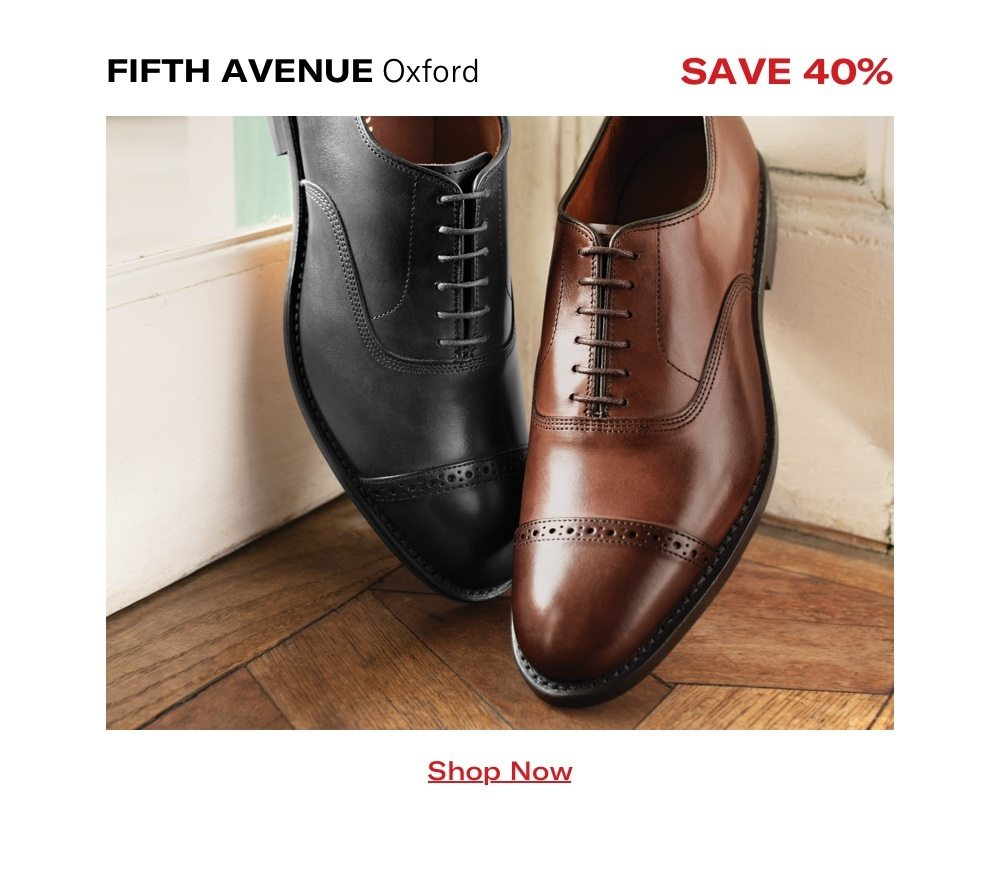 Fifth Avenue Oxford - Save 40%