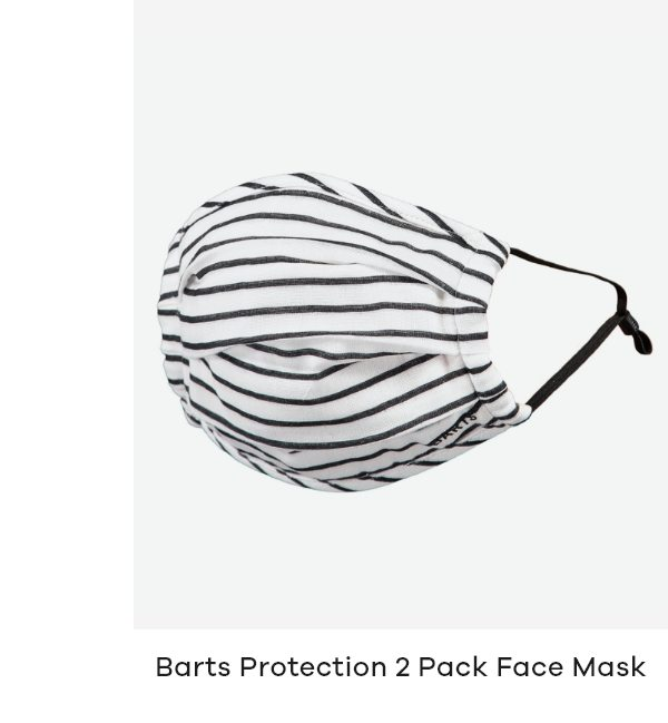 Barts Protection 2 Pack Face Mask