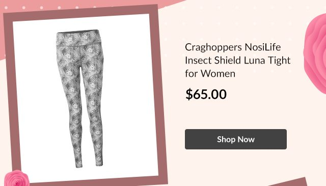 Craghoppers NosiLife Insect Shield Luna Tight for Women