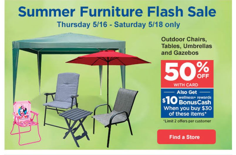 Summer Furniture Flash Find A