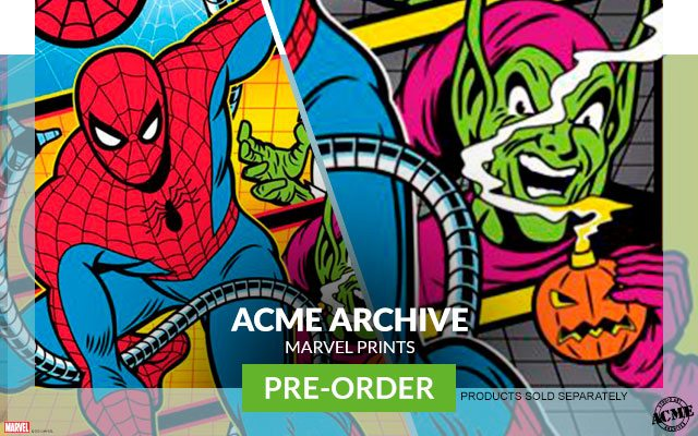 Marvel Art Prints by ACME Archives