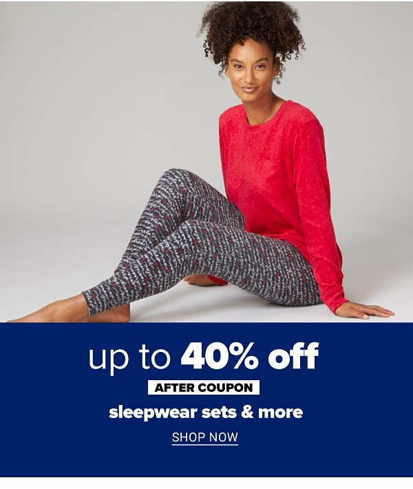 Up to 50% off sleepwear sets & more - after coupon.