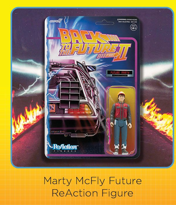 Marty McFly Reaction Figure