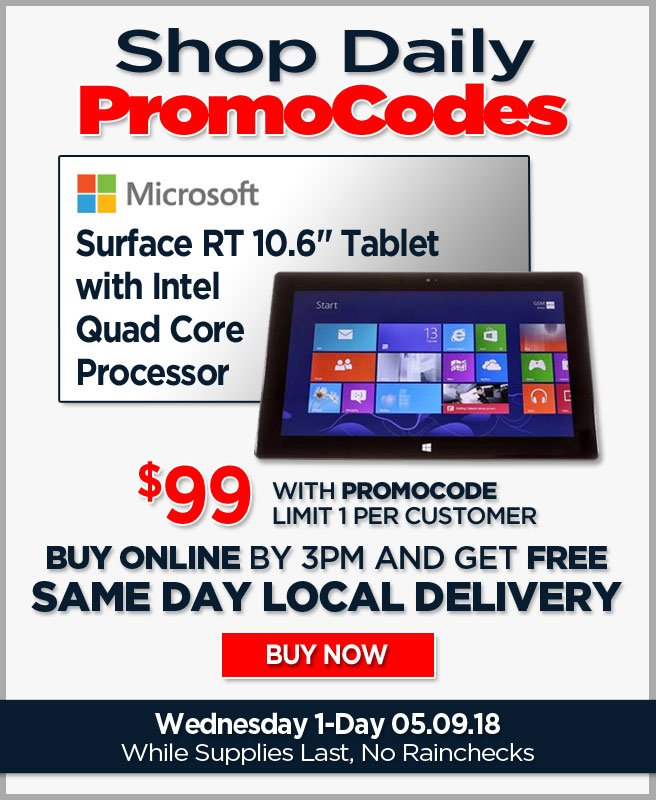 fry s electronics 33rd anniversary sale 99 microsoft surface rt