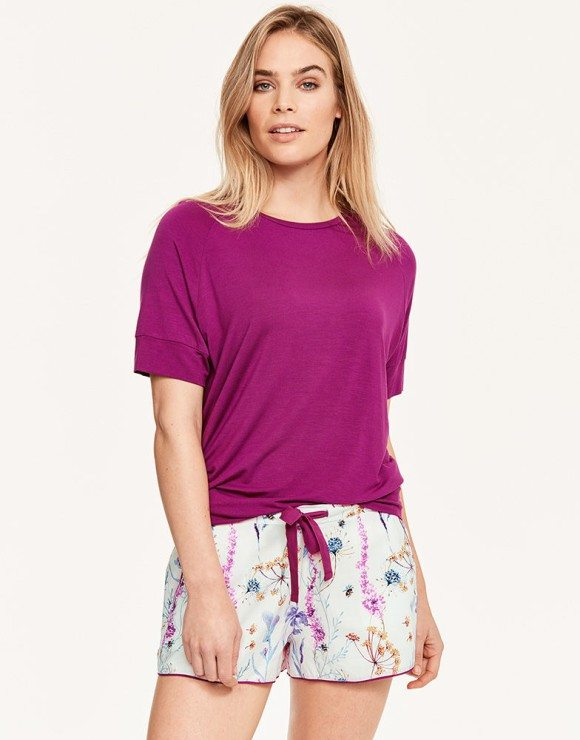 03b68cb10ce94 Cyberjammies Florence Knit Top £18 Florence Floral Print Shorts £18