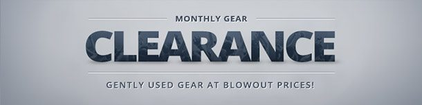HOT Clearance Deals on Used Gear!