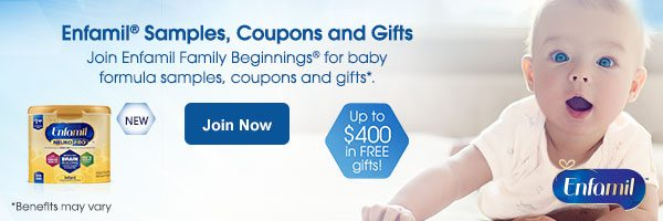 $400 in FREE gifts from Enfamil