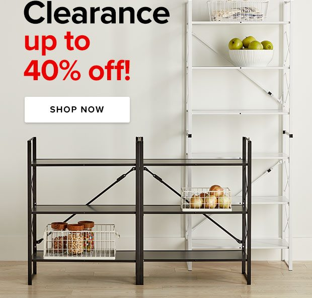 Cearance up to 40% off ›