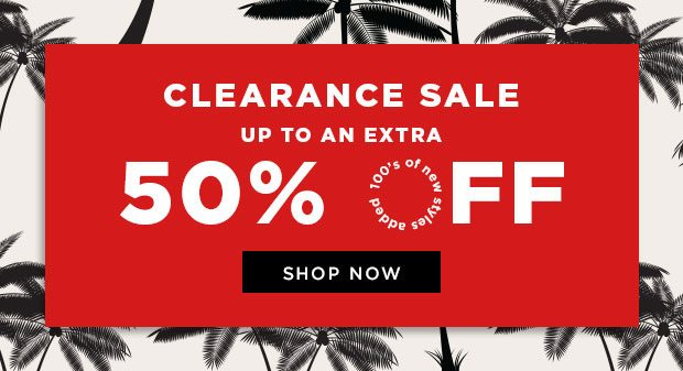 Shop 50% Off Clearance