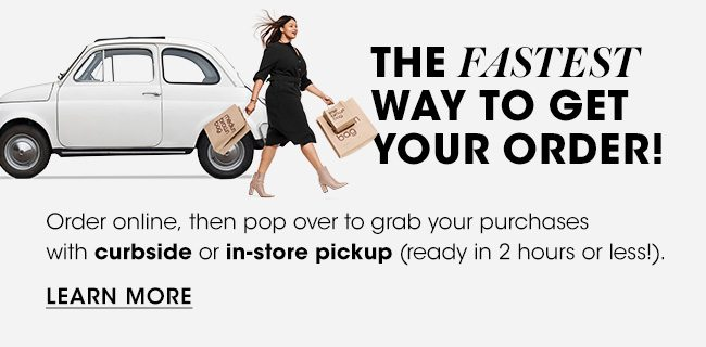 Curbside Pickup! See Stores and Learn More