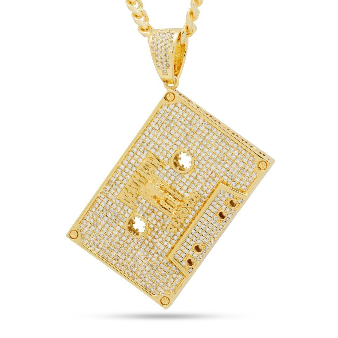 Image of King Ice x Death Row Records- Executive Cassette Necklace