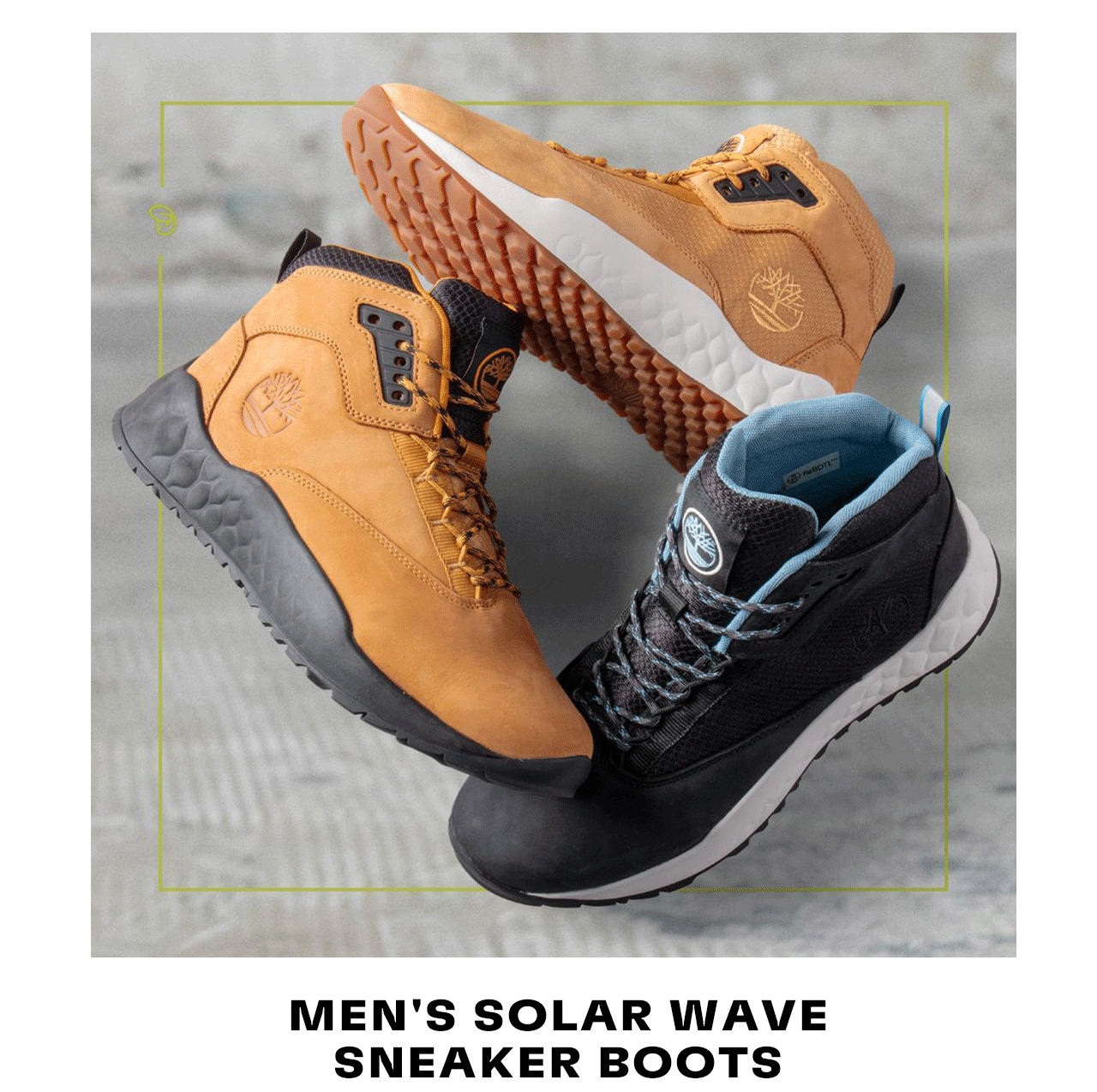 Solar Wave Sneaker Boots