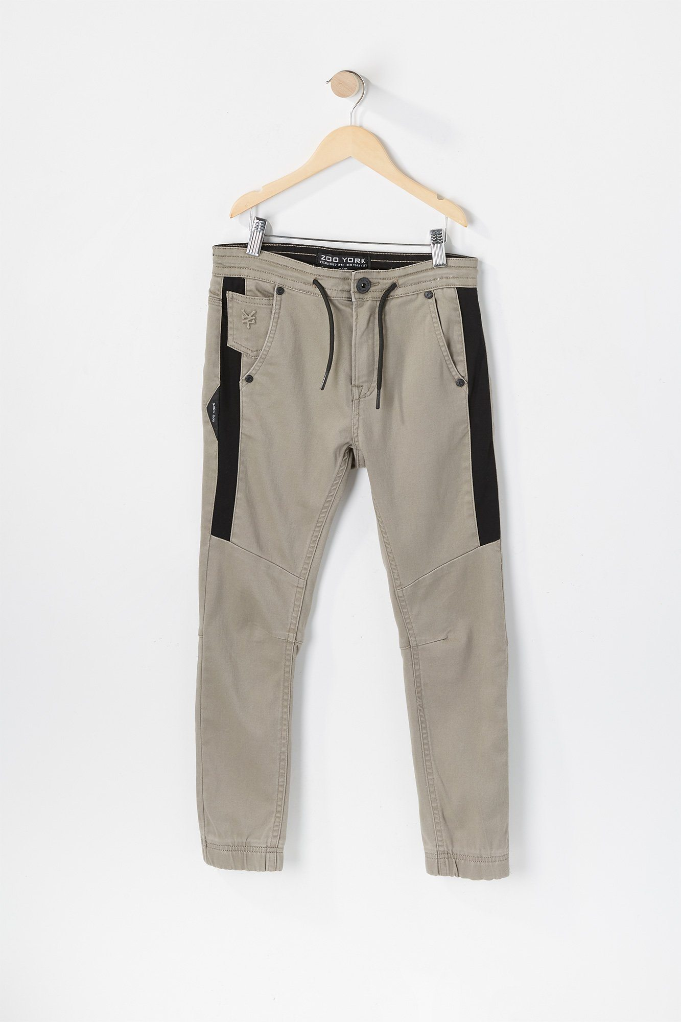 Image of Zoo York Youth Solid Panel Jogger