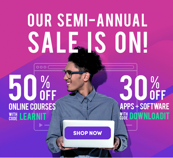 Our Semi-Annual Starts Now | Shop Now