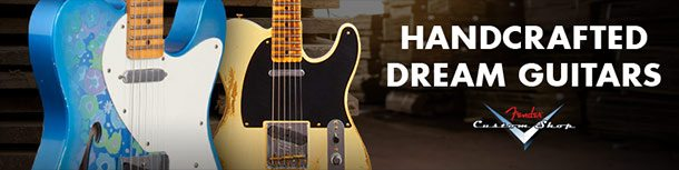 Fender Custom Shop Models Available at zZounds!