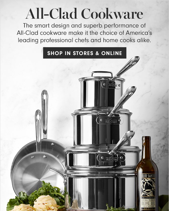 All-Clad Cookware - SHOP IN STORES & ONLINE