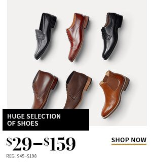 $29-$159 Huge Selection of Shoes