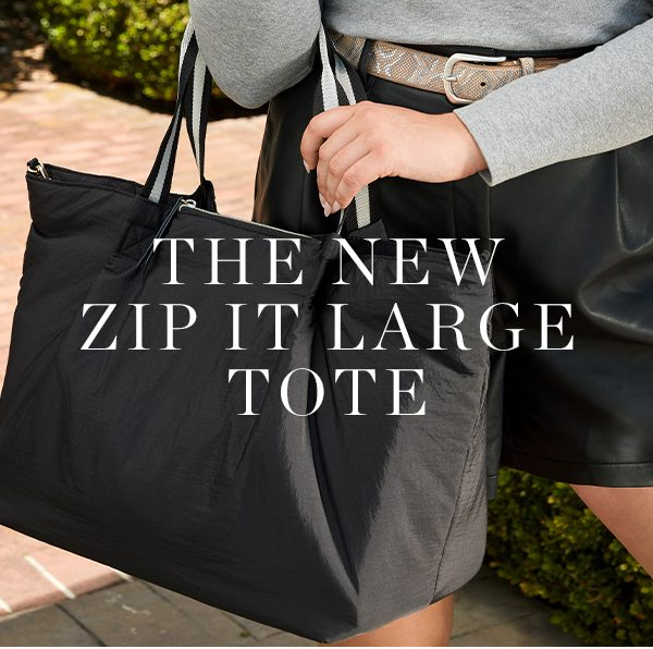 THE NEW ZIP IT LARGE TOTE