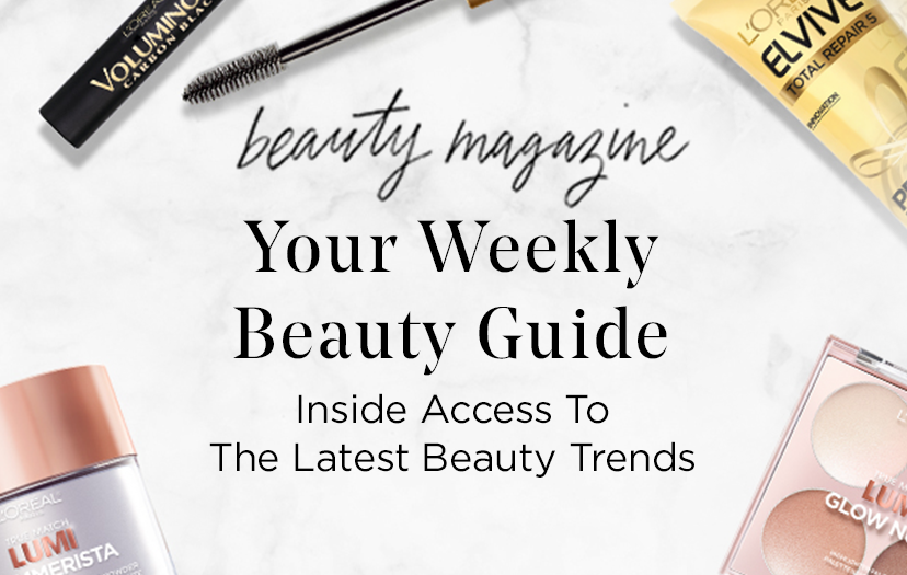 beauty magazine - Your Weekly Beauty Guide - Inside Access To The Latest Beauty Trends