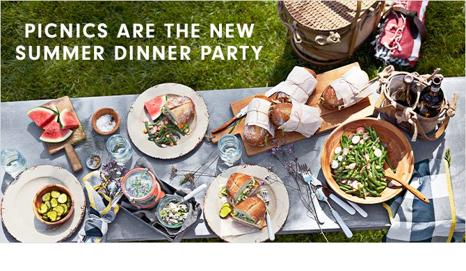 PICNICS ARE THE NEW SUMMER DINNER PARTY