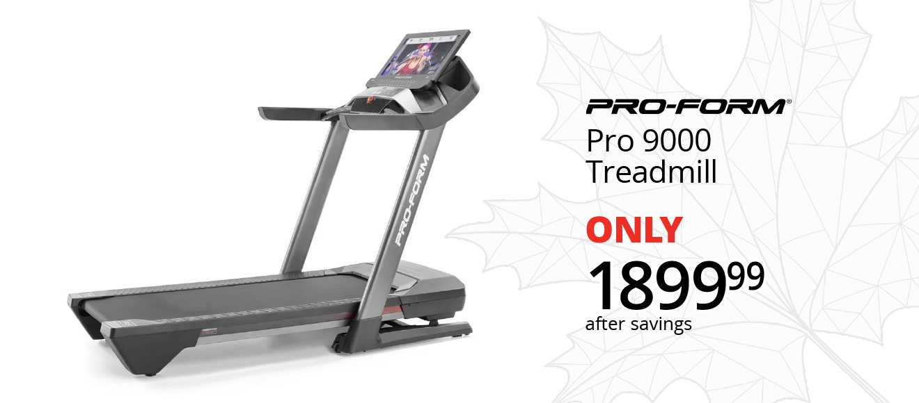 PRO-FORM® - Pro 9000 Treadmill - ONLY $1899.99 after savings