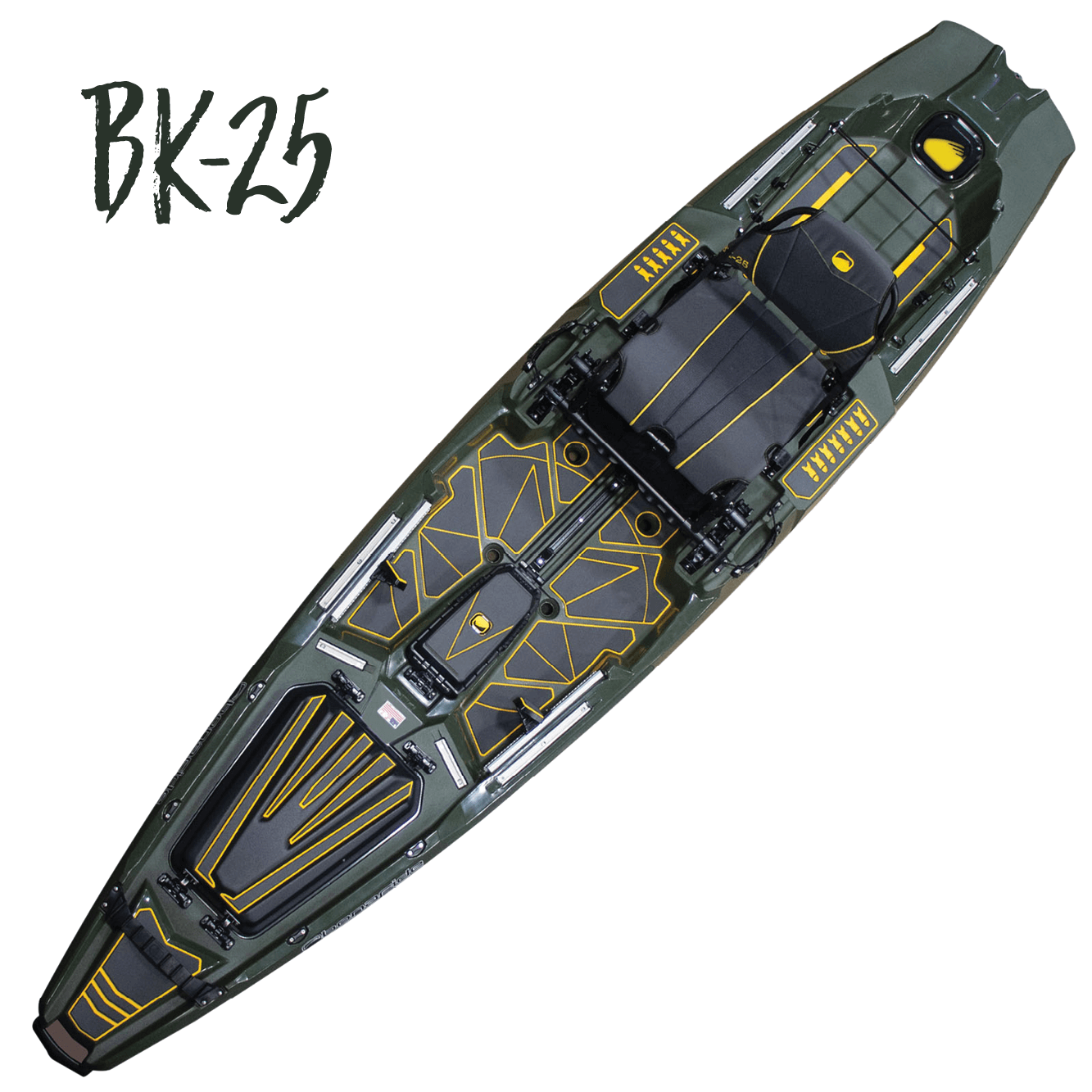 Almost Gone! Bonafide Limited Edition SS-127 Sit-On-Top Fishing Kayak