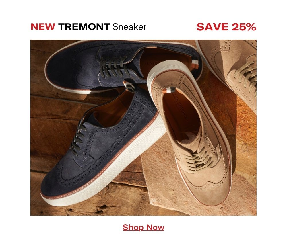 Tremont Sneaker - Save 25%