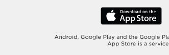 download on the app store. app store is a service mark of apple inc.