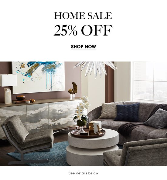 Home Sale - 25% Off