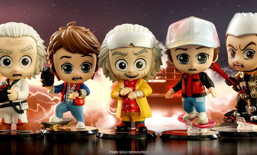 NEW Back to the Future Collectible Figures by Hot Toys