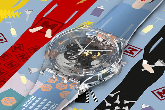 CELEBRATE RUSSIA WITH SWATCH
