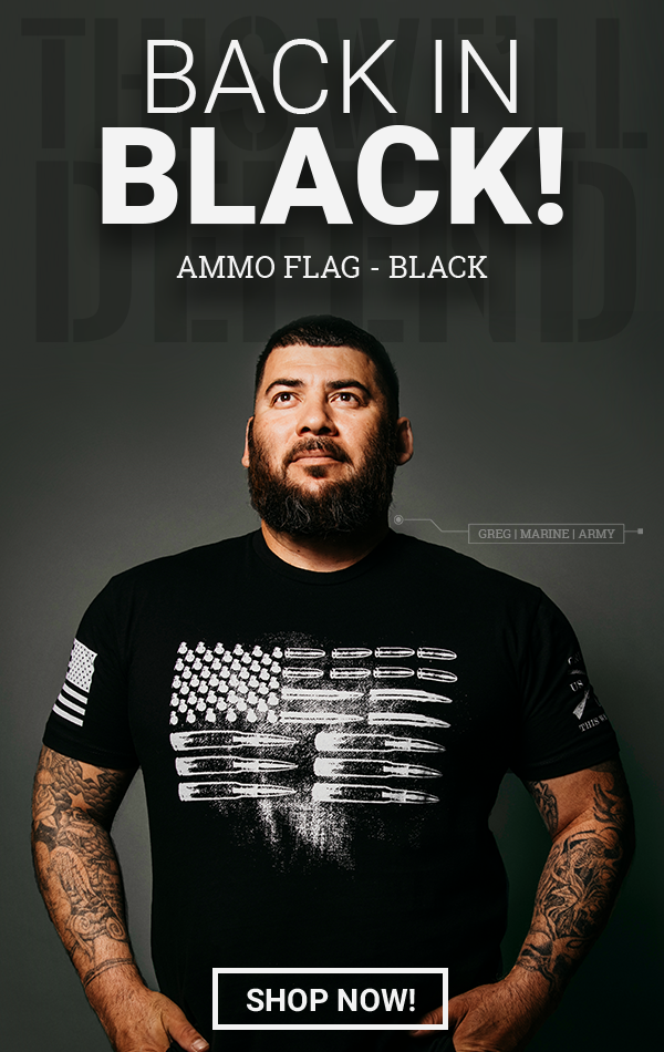 Black Ammo Flag?!