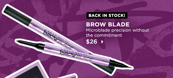 BACK IN STOCK! - BROW BLADE - Microblade precision without the commitment - $26 >